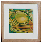 Sample of a framed Giclee Print