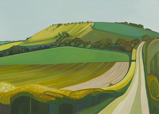 Anna Dillon Landscape Artist Oil Of The Mind Alternative